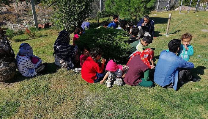 Çanakkale'de 24 mülteci yakalandı