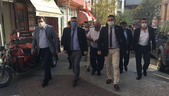 CHP heyetinden Ayvacık çıkartması