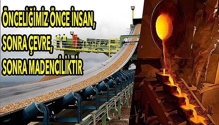 Madencilik sektöründen ortak açıklama!