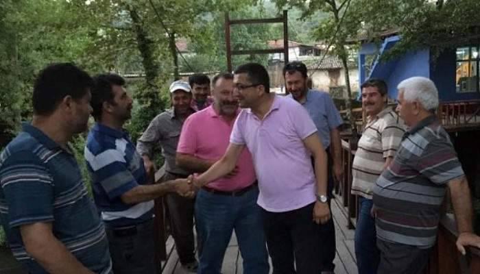 CHP Milletvekili Öz Yenice'de