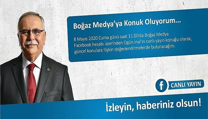 Başkan Gökhan, Boğaz Medya'ya konuk oluyor
