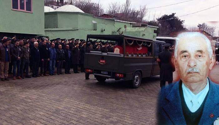 Kore Gazisi Ok, son yolculuğuna uğurlandı