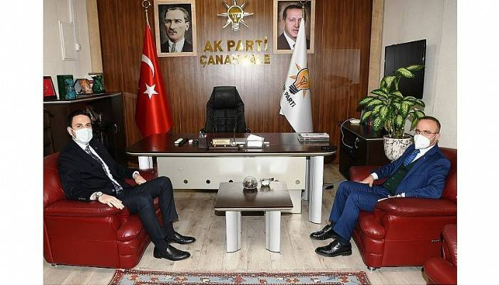 Turan, Vali Aktaş'ı ziyaret etti