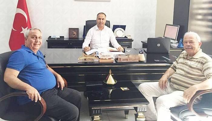 Levent İrez, İlçe Milli Eğitim Müdürü Bilen'i Ziyaret Etti