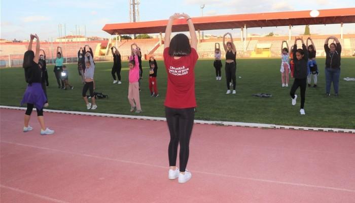 Hareketlilik Haftası Kapsamında Vatandaşlar Fitness Yaptı