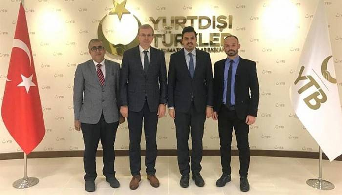 Yurtdışı Türkler ve Akraba Topluluklar Başkanlığı İle Proje Toplantısı Gerçekleştirildi