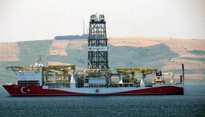 'Yavuz' sondaj gemisi, Çanakkale Boğazı'nda