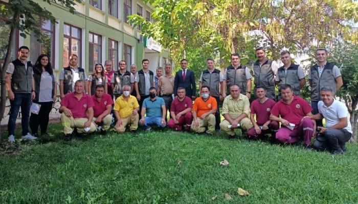 Orman personeline teşekkür belgesi