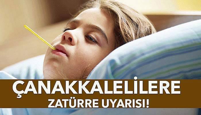 Dr. Yeşildağ'dan Çanakkalelilere zatürre uyarısı!