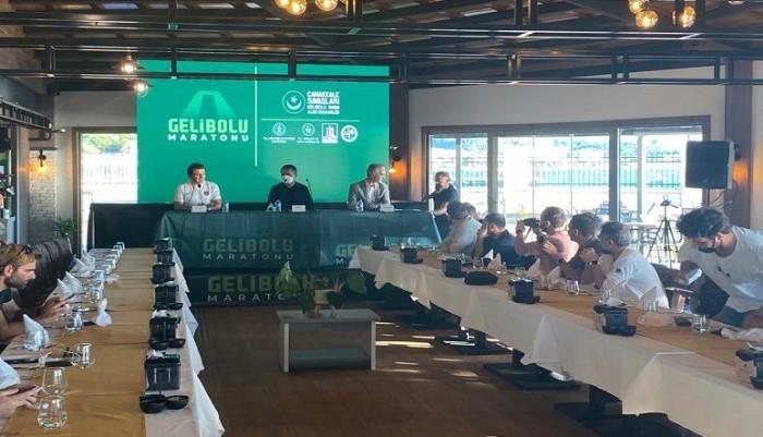 Uluslararası Gelibolu Maratonu İçin Basın Toplantısı Düzenlendi