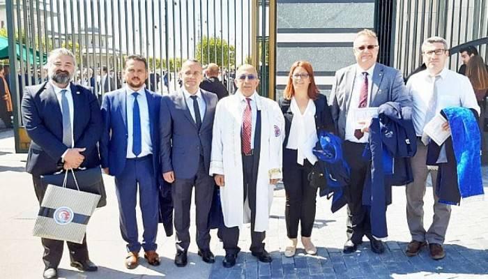 Rektör Prof. Dr. Sedat Murat ve Beraberindeki ÇOMÜ Heyeti, 2019-2020 Yükseköğretim Akademik Yılı Açılış Töreni'ne Katıldı