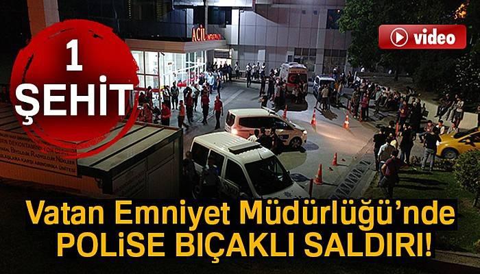 Vatan Emniyet'te polise saldırı!