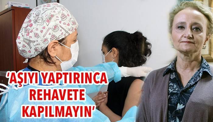 'Aşıyı yaptırınca rehavete kapılmayın' (VİDEO)