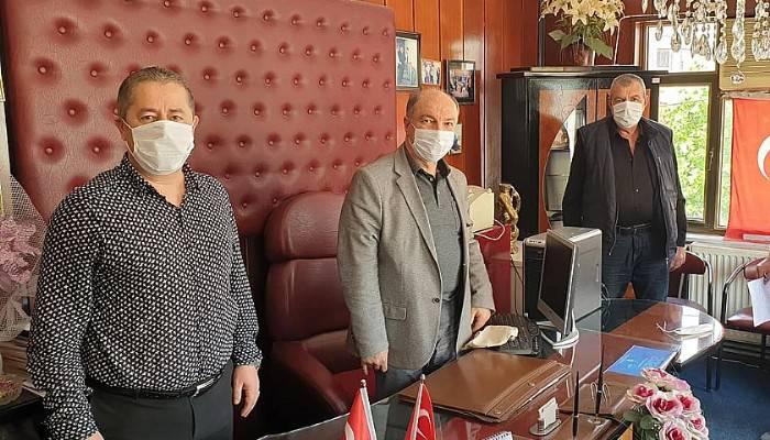Birlik Başkanı Özcan, Ayvacık'ta Esnafların Sorunlarını Görüştü