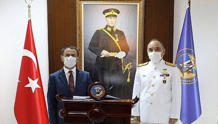 Vali Aktaş, Boğaz ve Garnizon Komutanlığını Ziyaret Etti