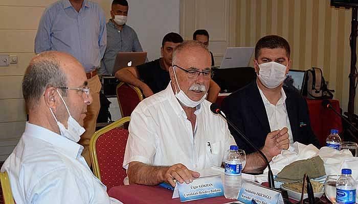 CHP'li belediye başkanları Burdur'da buluştu (VİDEO)