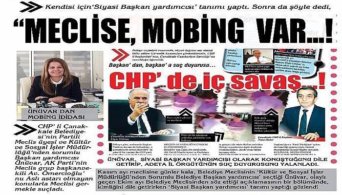 """Meclise, Mobing var…!"