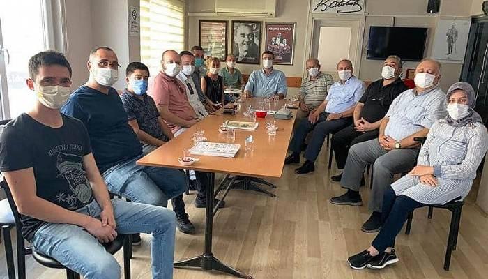 BİGA OSB, CHP İLÇE BAŞKANI ÖZTÜRK'Ü ZİYARET ETTİ
