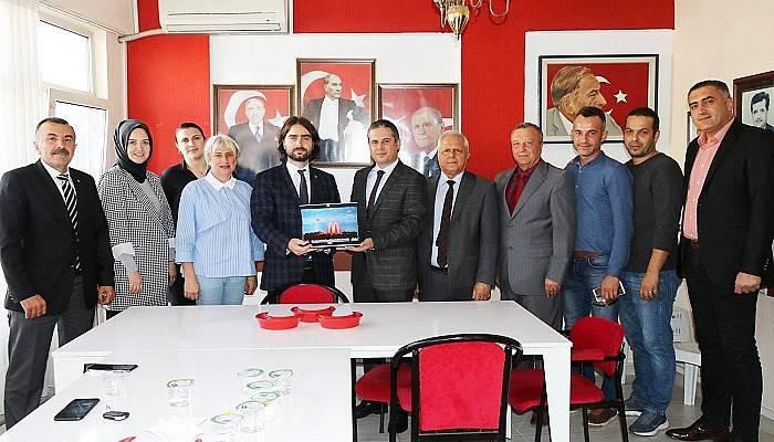 AK Partiden MHP Yeni Yönetimine Ziyaret