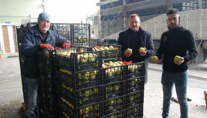 Bayramiçli elma üreticileri zor durumda (VİDEO)