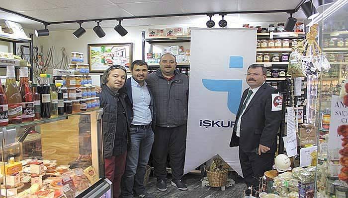 İŞKUR İl Müdürlüğü'nden yeni girişimcilere ziyaret