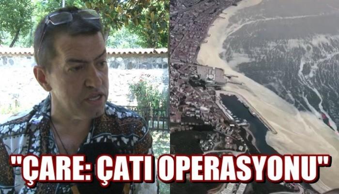 Marmara'da görülen deniz salyasına çare: 'Çatı Operasyonu' (VİDEO)