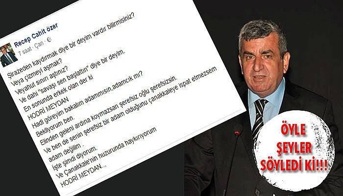 MHP'li Özer kime kızdı?