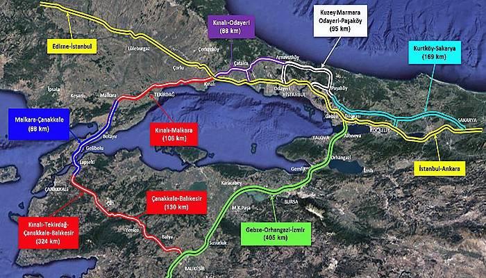 """""""1915 Çanakkale Köprüsü ile bölgesel çevre yolu oluşturuyoruz"""""""