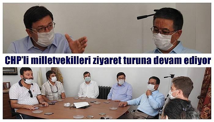CHP'li milletvekilleri ziyaret turuna devam ediyor