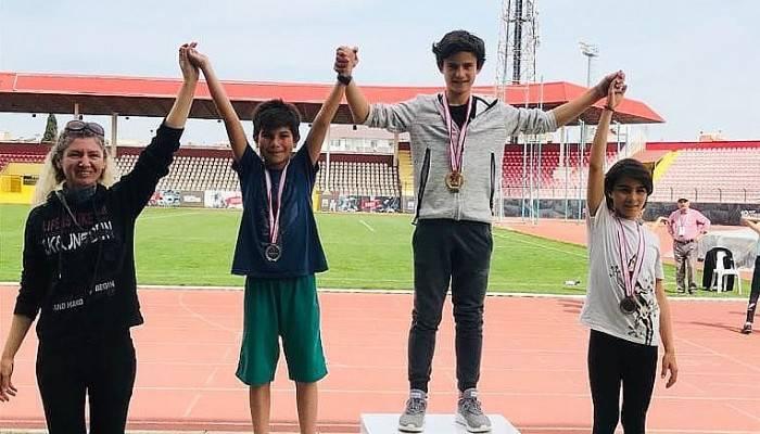 Mektebim öğrencilerinden atletizmde başarı