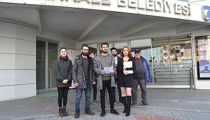 ÖĞRENCİLER BELEDİYE'YE SESLENDİ