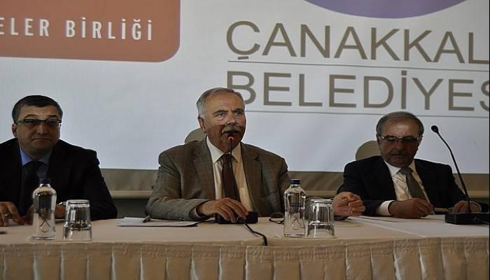 Türkiye Belediyeler Birliği Çanakkale temsilcileri belirlendi (VİDEO)