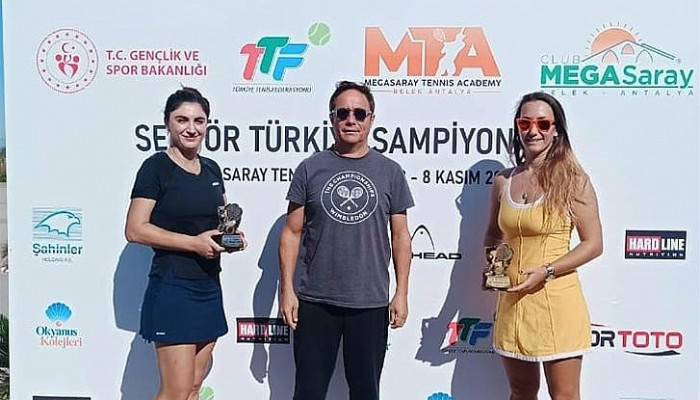 Erkeklerde Giray, Kadınlarda İse Sevilay Tenis Şampiyonasında Türkiye İkincisi Oldu