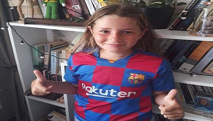 Hayali Barcelona'da Futbol Oynamak