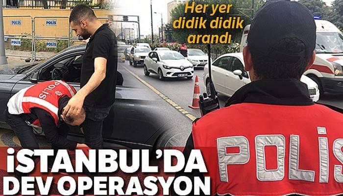 İstanbul'da Kurt Kapanı-8 uygulaması gerçekleştirildi