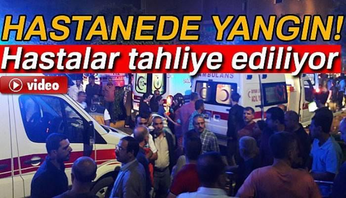 Diyarbakır'da hastanede yangın!