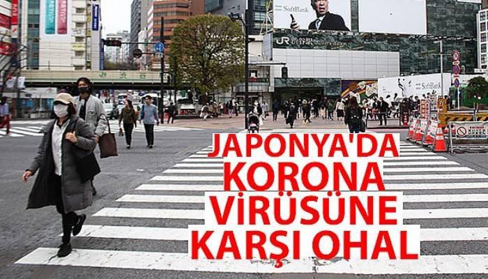 Japonya'da korona virüsüne karşı OHAL ilan edildi