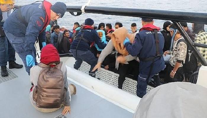 Çanakkale'de 49kaçak göçmen yakalandı