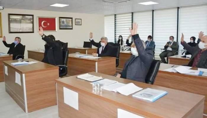 Lapseki Belediyesi Nisan ayı meclis toplantısı yapıldı
