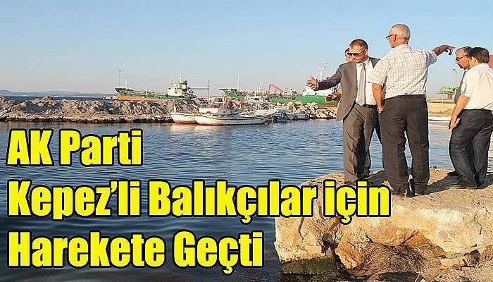 AK Parti Kepez'li Balıkçılar için Harekete Geçti