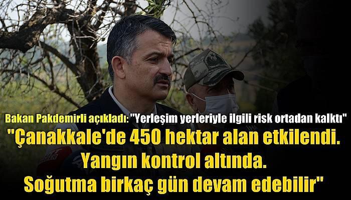 Tarım ve Orman Bakanı Bekir Pakdemirli açıkladı!
