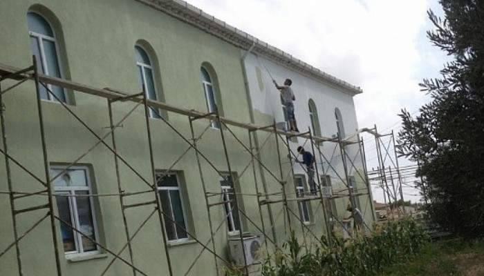 Bayırköy Camii'nde bakım ve onarım
