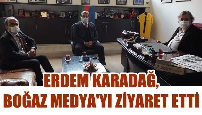 Karadağ Boğaz Medya'yı ziyaret etti