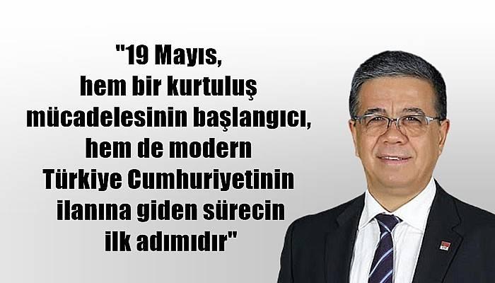 CHP Çanakkale İl Başkanı Ural'dan 19 Mayıs Mesajı