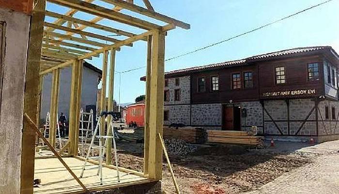 Mehmet Akif Ersoy Sokağı kültür merkezi olacak