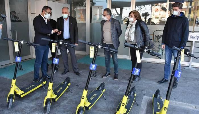 Elektrikli scooterlar sisteme dahil edilecek