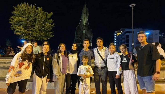 Anafartalar Zaferi Açık Hava Taekwondo Turnuvası sona erdi
