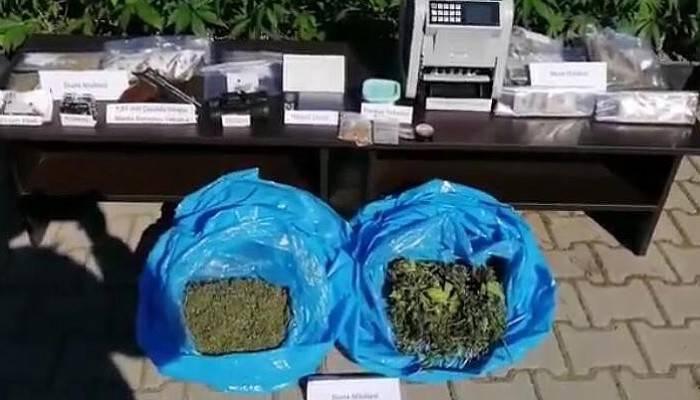 Çanakkale uyuşturucu operasyonu: 3 gözaltı (VİDEO)