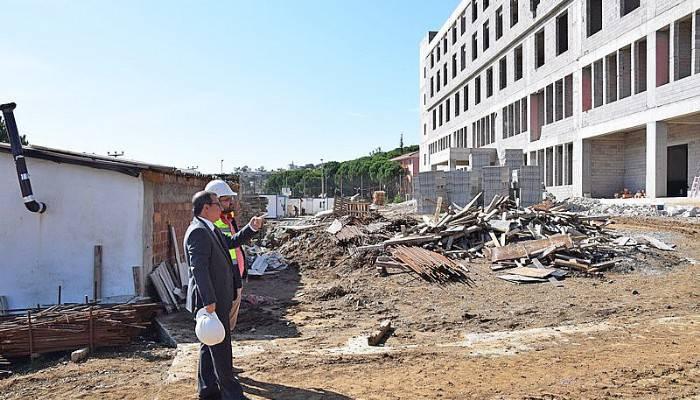Çan Devlet Hastanesi Binası Hızla Devam Ediyor
