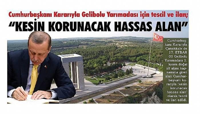 """""""KESİN KORUNACAK HASSAS ALAN"""""""